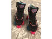 Girls/ ladies RIO quad roller skates size UK 5