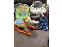 4x baby items good condition £15
