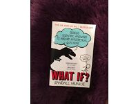 What if? Randall Munroe - never read and brand new