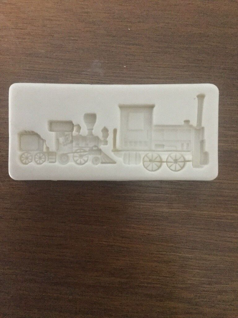 Silicone train ship and car moulds