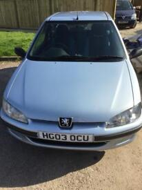 Peugeot 106 , would make an ideal 1st car