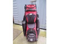 Cleveland Golf Buggy bag with strap and rain cover