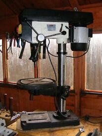 """Used 15"""" Jet Bench Mount Drill Press."""