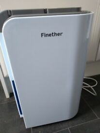 Finether 12L dehumidifier, suitable for home or flat