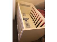 Baby cot 60x120 with new mattress
