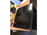 Electric hob taken out a fitted kitchen