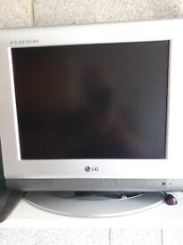 LG Flatron small screen TV