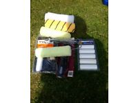 Mini roller set with accessories brand new