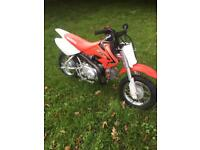 Honda crf50 only 11 months old