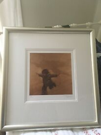 Craig Davison Signed Authentic Artwork 'KKRRRRR! Bandits at 12 O'Clock KKRRR!' Framed