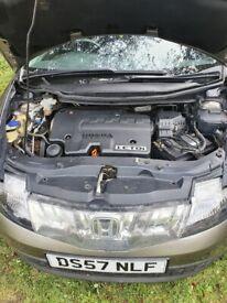Honda, CIVIC, Hatchback, 2007, Manual, 2204 (cc), 5 doors