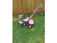 Smart Trike zoo parrot pink