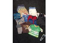 Baby Boy summer clothes bundle 6-9 months