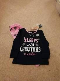 Girls pj's (advent pj's) 2-3 years