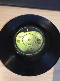 Rare 7 inch vinyl records