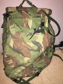 British Army Rucksack Hiking and Camping