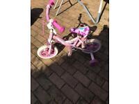 Free- Small, pink bike.