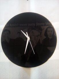 12 inch Vinyl disc Clock