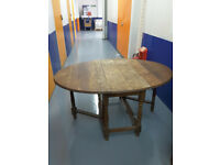 Vintage large dining table