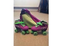 Girls SFR Vision GT Roller Skates (Size 4)
