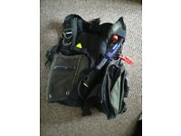 Scuba diving BCD. Good used condition.