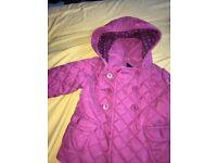 Pink baby gap jacket