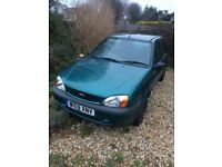 Ford Fiesta Finess low mileage