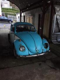 Volkswagen beetle barn find spears or repair