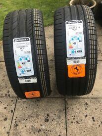 Tucson tyres 245/45r 19 new X2