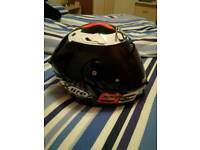 Lorenzo xlite helmet size large dark visor