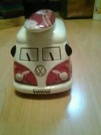 VW camper van money box