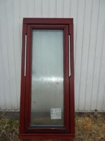 double glazed wood window
