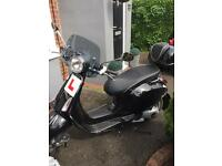 Vespa Primera 125cc scooter 540miles only