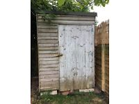 Garden Shed 4ft x 5ft.