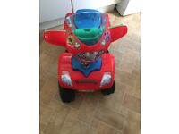Mickey Mouse battery powered quad bike