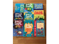 10 Roald Dahl books in excellent as new condition
