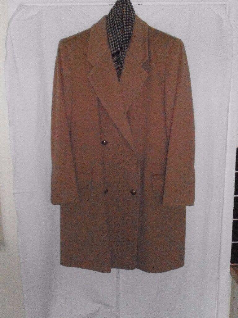 Ladies Jaeger 3/4 Camel Coat