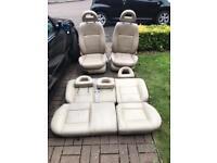 Vw golf mk4 5 door leather seats