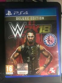 WWE 2K18 *DELUXE EDITION*