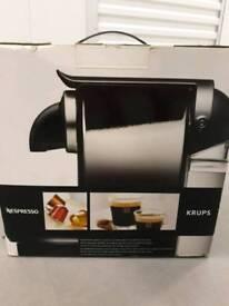Nespresso Krups coffee maker