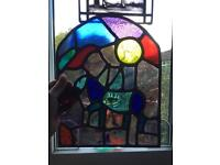 Stained glass . £15.