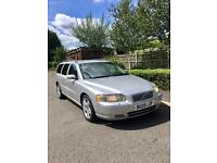 VOLVO V70 D5 SE 2.4 DIESEL AUTO 2005 [05] SILVER 7 SEATER LEATHER