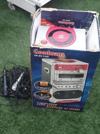Karaoke machine - CD/ Tape