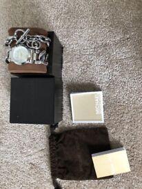 Michael Kors Silver link watch and silver link bracelet