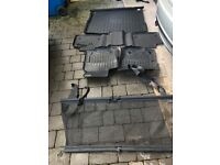 Mercedes ML 250 Dog Guard, Rear Boot Liner and Full Set of Mats- Genuine.