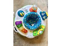 Leapfrog baby bouncer and play station