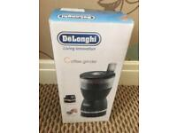 DeLonghi coffee grinder New in box