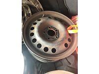 Vauxhall 15inch steel wheels