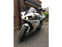 Yamaha R1 Big Bang, very low mileage, showroom condition, new rubber & battery, MOT 'til April 2018