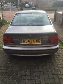 HI BERGAIN BMW 528I AUTOMATIS WITH LONG MOT DRIVE VERY WELL